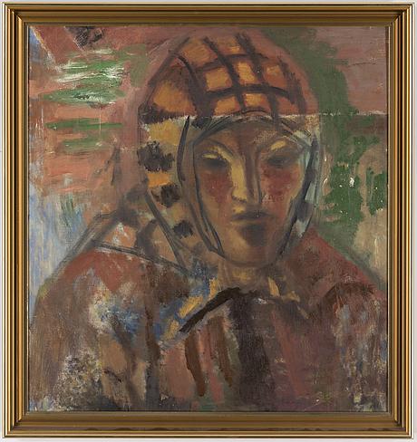 Johannes rian, oil on canvas