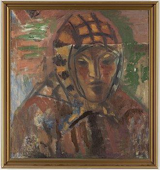 JOHANNES RIAN, oil on canvas.