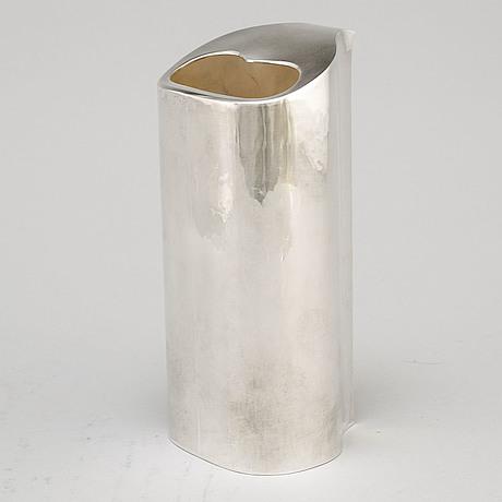 Atelier borgila, a sterling silver cocktailshaker, stockholm 1988