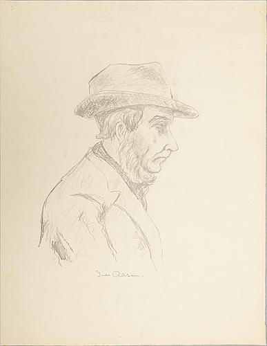 Johannes rian, drawing.