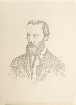 JOHANNES RIAN, drawing.