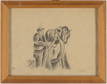 JOHANNES RIAN, 4 drawings.