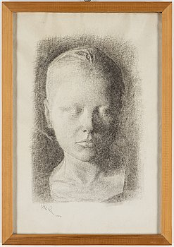 JOHANNES RIAN, drawing, signed and dated 1927.