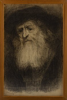 JOHANNES RIAN, drawing, signed and dated 27.