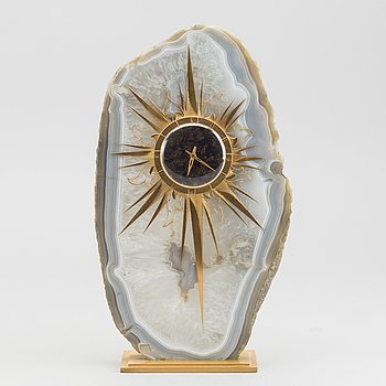 A W A Bolin mantel clock, 20 century latter part.