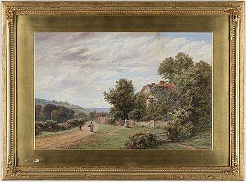 ROBERTO MARSHALL, akvarell, signerad RAK Marshall.