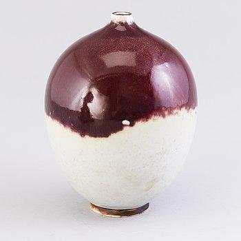 ANNIKKI HOVISAARI, KRUKA, keramik, Arabia 1950-60-tal, signerad AH.