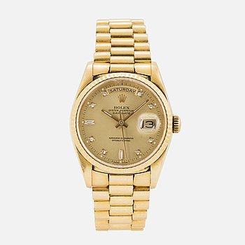 ROLEX, Day-Date, armbandsur, 36 mm.