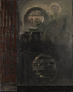 JAN KENNETH WECKMAN, oil on canvas, a tergo signed and dated February 1990.