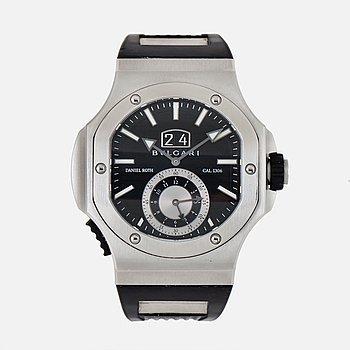 "BVLGARI, Endurer, Chronosprint, ""Daniel Roth"", Chronometer, armbandsur, 51 x 55 mm."