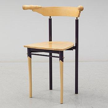 BOREK SIPEK, a 'Jansky' maple chair from Driade, Italy.