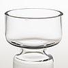"""Nanny still, ljusstakar, 2 st, glas, """"majakka"""" (fyr), riihimäen lasi. modellen formgiven 1973"""