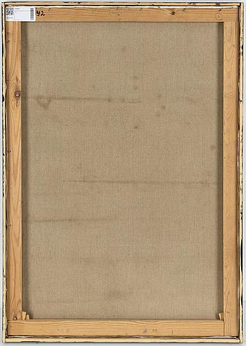 Bertram schmiterlÖw, olja på duk, signerad.