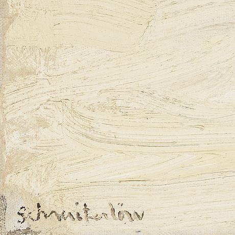 Bertram schmiterlÖw, oil on canvas, signed