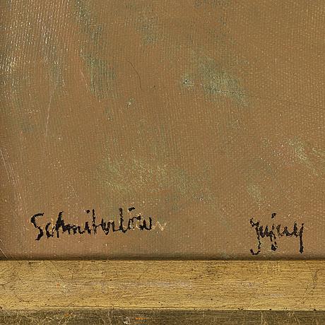 Bertram schmiterlöw, oil on canvas, signed jujuy (province in argentina).