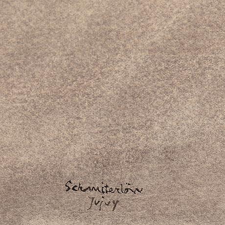 Bertram schmiterlöw, watercolour, signed jujuy (province in argentina).