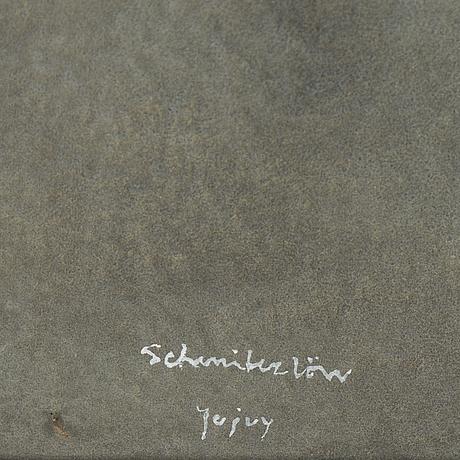 Bertram schmiterlöw, watercolour, signed jujuy (argentina).