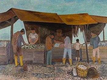 ALICE KAIRA, olja på duk, signerad och daterad 1964.