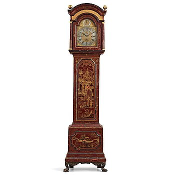 126. A William Webster Exchange Alley London, longcase clock, early 18th century.