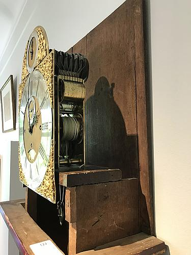 A william webster exchange alley london, longcase clock, early 18th century.