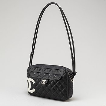 CHANEL, A 'Cambon Ligne Quilted CC Camera Bag'.