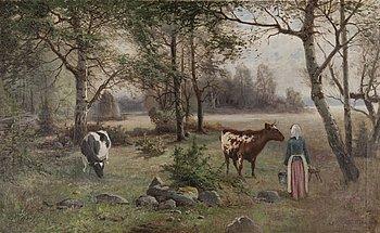 OTTO GRIPENSVÄRD, olja på duk, signerad och daterad 1894.