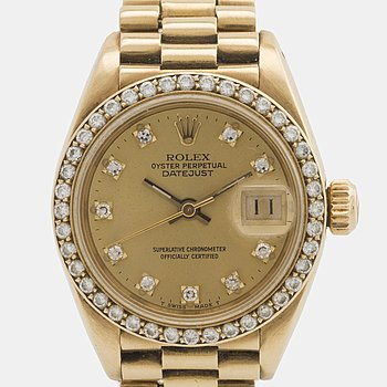 ROLEX, Oyster Perpetual, Datejust, Chronometer, armbandsur, 26 mm.