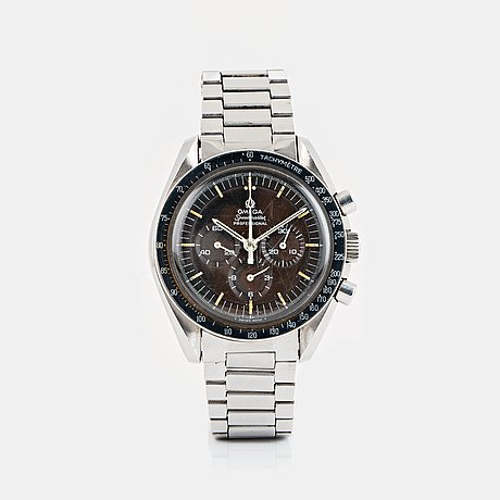 "Omega, speedmaster, ""tropical dial"", chronograph."
