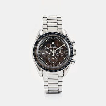 "1. OMEGA, Speedmaster, ""Tropical Dial"", chronograph."