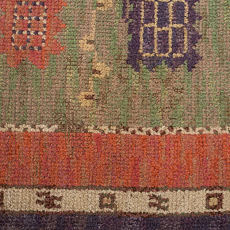"MÄrta mÅÅs-fjetterstrÖm, a carpet, ""ryttmästarens matta"", knotted pile, ca 308,5 x 230,5 cm, signed mmf."