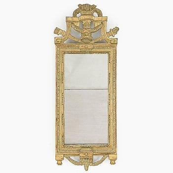 A Swedish gustavian mirror by Niclas Reding (master in Jönköping ca 1779-1825).