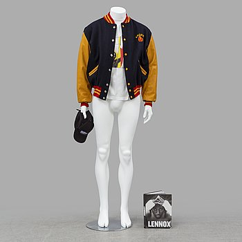 LENNOX LEWIS, DeLong Kronk team jacket från 2002.