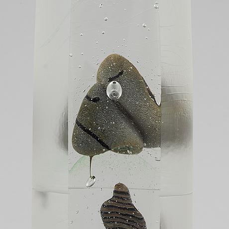 Bertil vallien, skulptur, glas, kosta boda, unik.