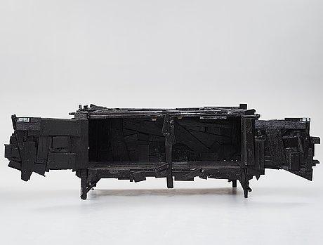 "Finn ahlgren, a unique ""trash sideboard"", studio finn ahlgren, sweden 2016."