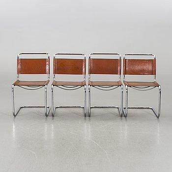 STOLAR, 4 stycken, formgivna för Fasem, 1985.