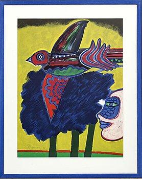 BEVERLOO CORNEILLE,  färgserigrafi, signerad och numrerad 115/200, daterad '81.