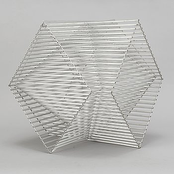 BERTIL HERLOW SVENSSON, skulptur, aluminium.