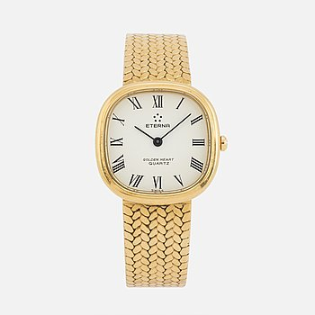 ETERNA, Golden Heart, armbandsur, 27x27 mm.