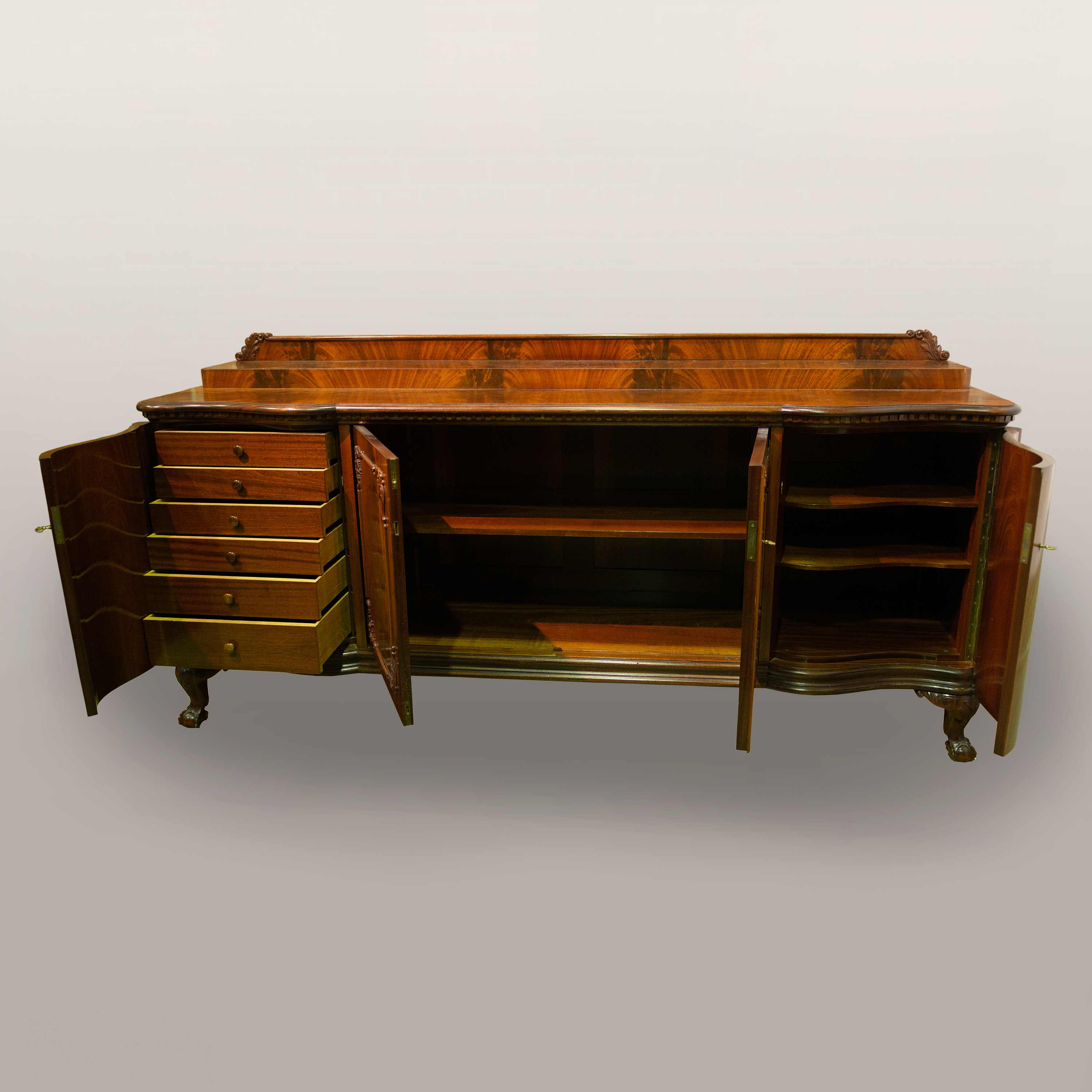 A 1920s Chippendale Style Buffet Sideboard Bukowskis