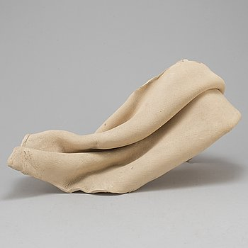 HERTHA HILLFON, a terracotta sculpture, signed and dated 1978.