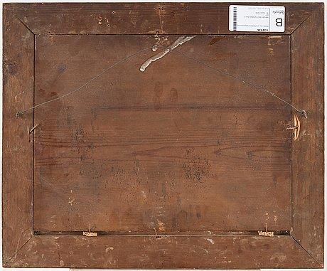 Pehr hillestrÖm, panel 31 x 40.5 cm. period frame.