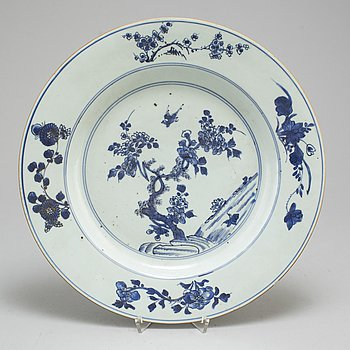 FAT, porslin. Qingdynastin, Qianlong (1736-95).