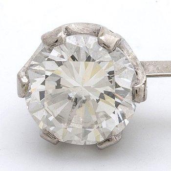 DIAMANT ca 1,10 ct lös sten i  fattning - del av hänge ej komplett, ca I VS.