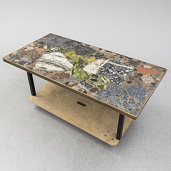 ERLING VIKSJØ, coffee table, Conglo Design, Norway 1960-80s.