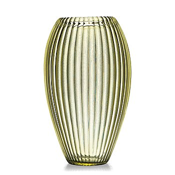 "5. Simon Gate, a cut ""Triton"" glass vase, designed and executed at Orrefors ca 1918."