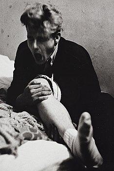 "245. Larry Clark, ""Untitled (grimacing man)"", 1963."