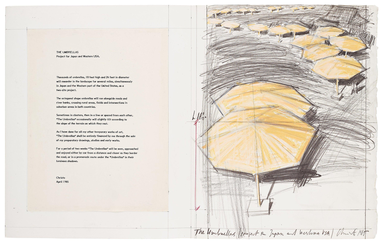 Miraculous Christo Jeanne Claude The Umbrellas Project For Japan Download Free Architecture Designs Oxytwazosbritishbridgeorg