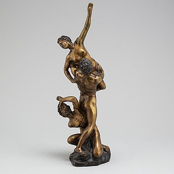 GIAMBOLOGNA, efter. Skulptur, brons.