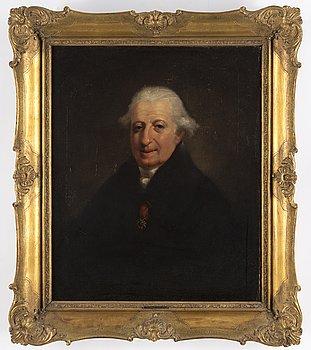 OKÄND KONSTNÄR, England, omkring 1830, olja på duk.