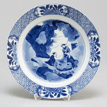 FAT, porslin. Qingdynastin, Kangxi (1664-1722).